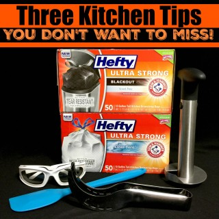 Three Kitchen Tips You Don't Want To Miss