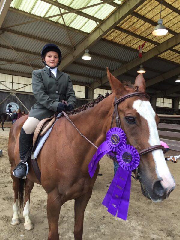 Tri State Equestrian Show at Falls Creek Farm – Sephora and Toni