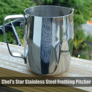 Chef's Star Stainless Steel Frothing Pitcher