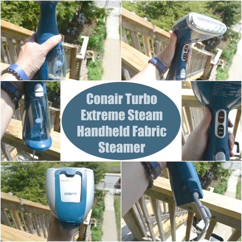 Conair Turbo Extreme Steam Handheld Fabric Steamer