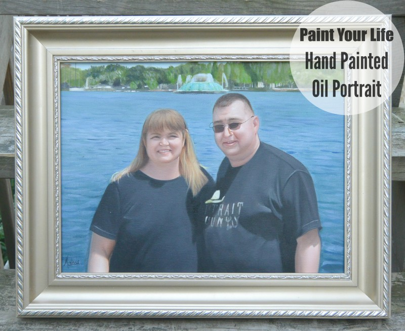 Paint Your Life Hand Painted Oil Portrait #paintyourlife