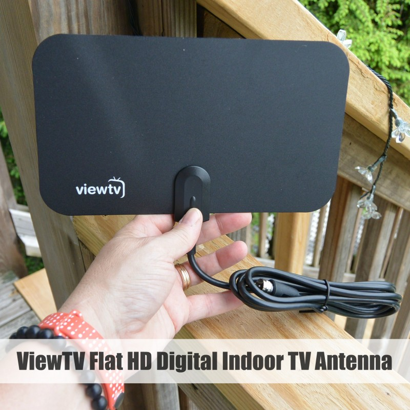 ViewTV Flat HD Digital Indoor TV Antenna