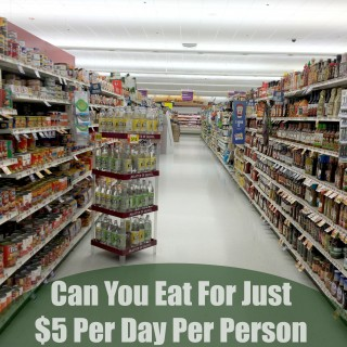 Can You Eat For Just  $5 Per Day Per Person