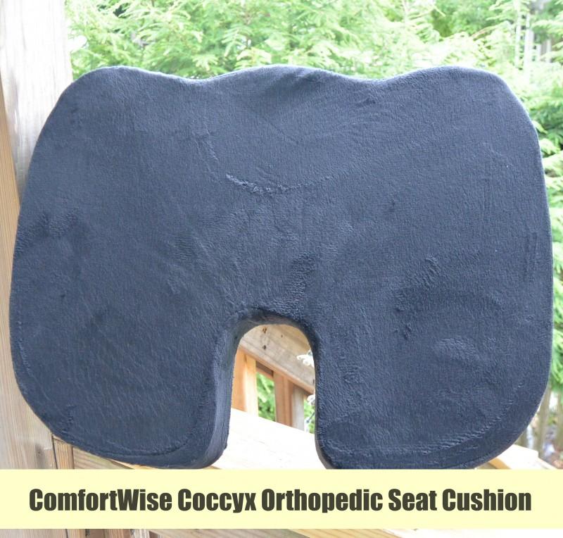 ComfortWise Coccyx Orthopedic Seat Cushion