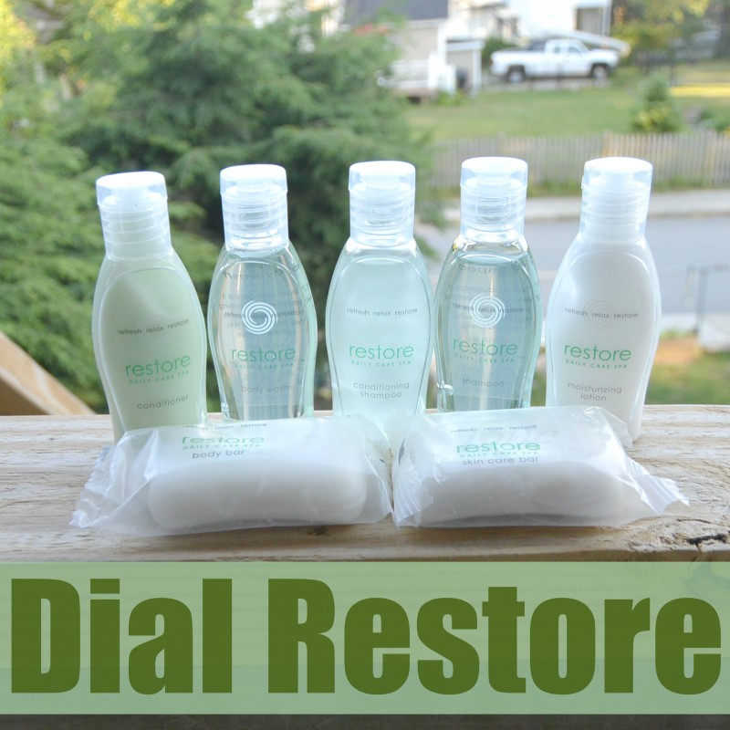 Getting Pampered With Dial Restore #DialRestore