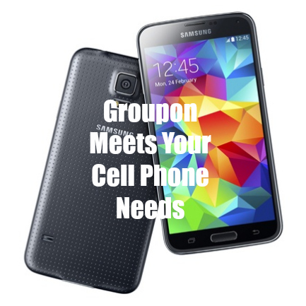 Groupon meets your cell phone needs