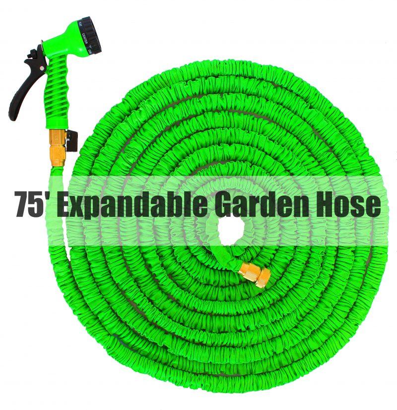 75' Expandable Garden Hose