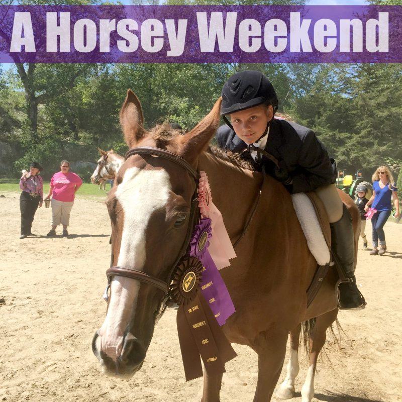 A Horsey Weekend