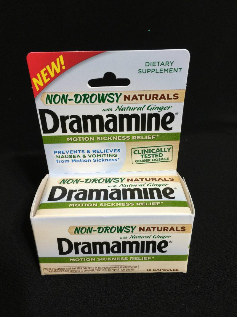 Dramamine Non Drowsy Naturals Box