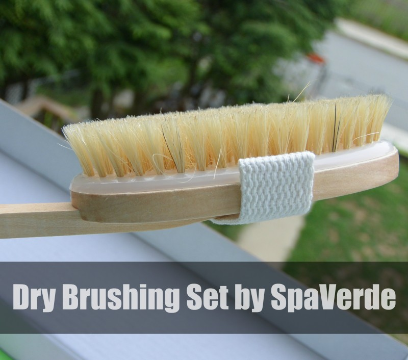 Dry Brushing Set by SpaVerde