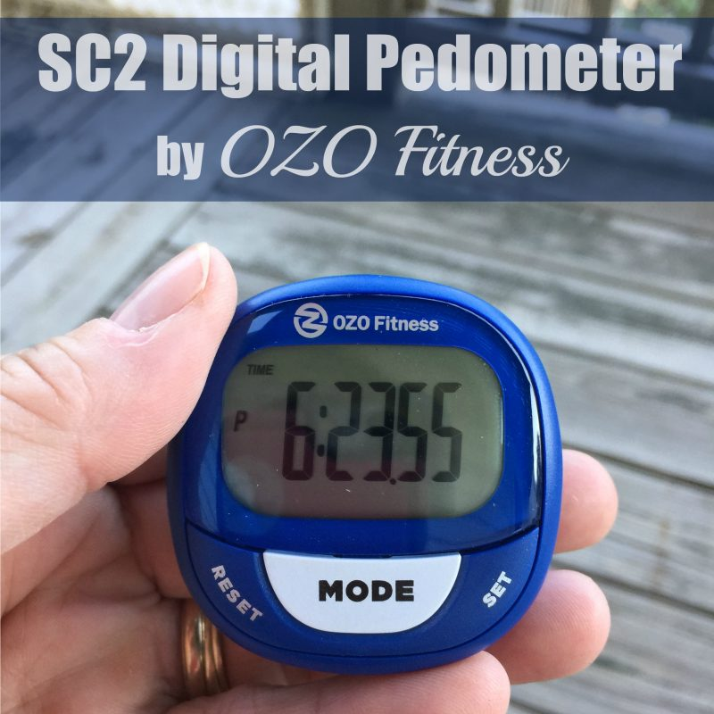 SC2 Digital Pedometer by OZO Fitness