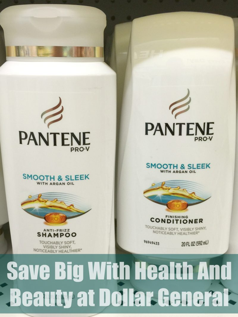 Save Big With Health And Beauty at Dollar General