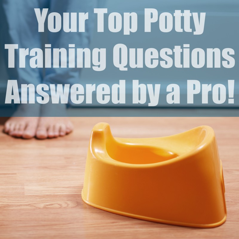 Your Top Potty Training Questions Answered by a Pro