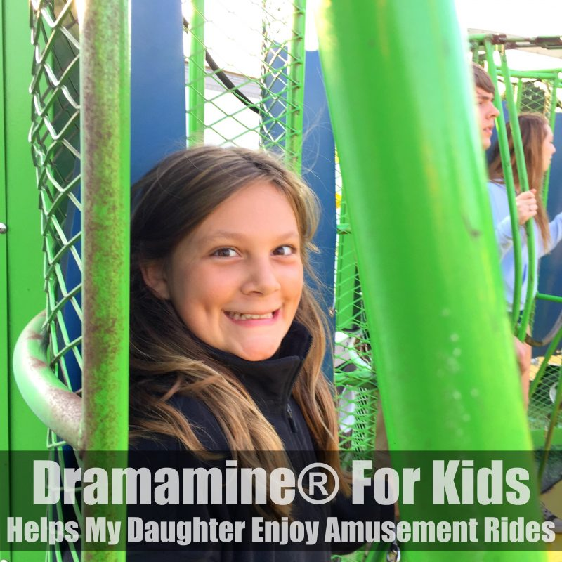 Dramamine® For Kids - Helps My Daughter Enjoy Amusement Rides #AdventuresInMotion #IC #ad
