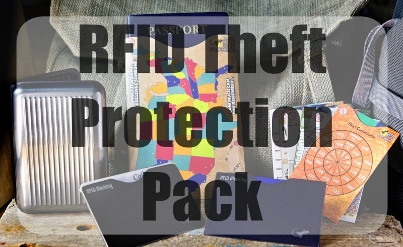 RFID Theft Protection Pack
