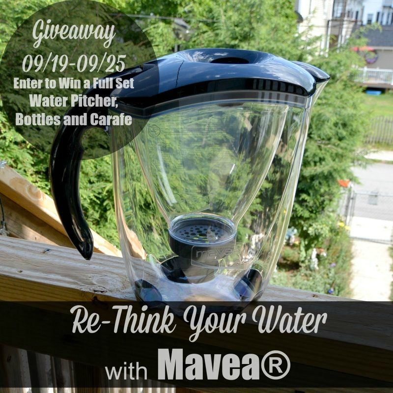 Re-Think Your Water With Mavea® Water Filtration System - Giveaway 09/19-09/25