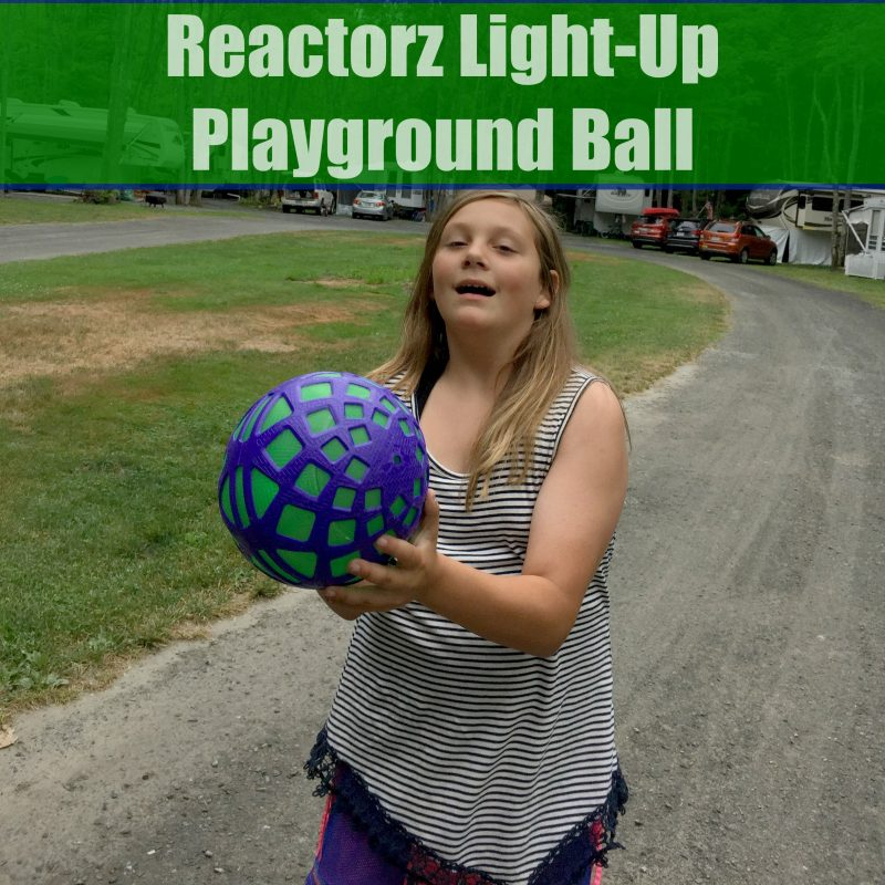 Reactorz Light-Up Playground Ball - Taking Fun To A New Level