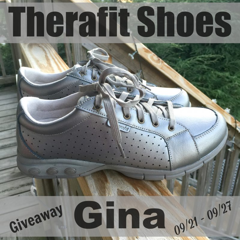 Therafit Shoes Giveaway - The Gina 09/21 through 09/27