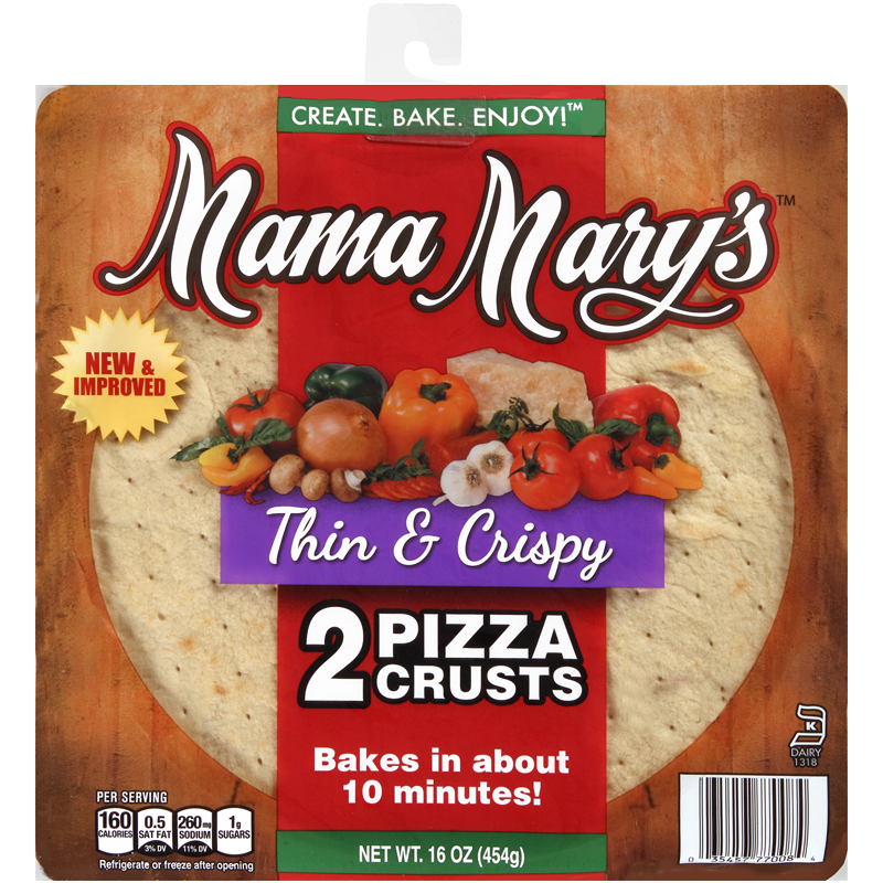 Loving National Pizza Month With Mama Mary's® Pizza Crusts and Shepherds Pizza Pie!!