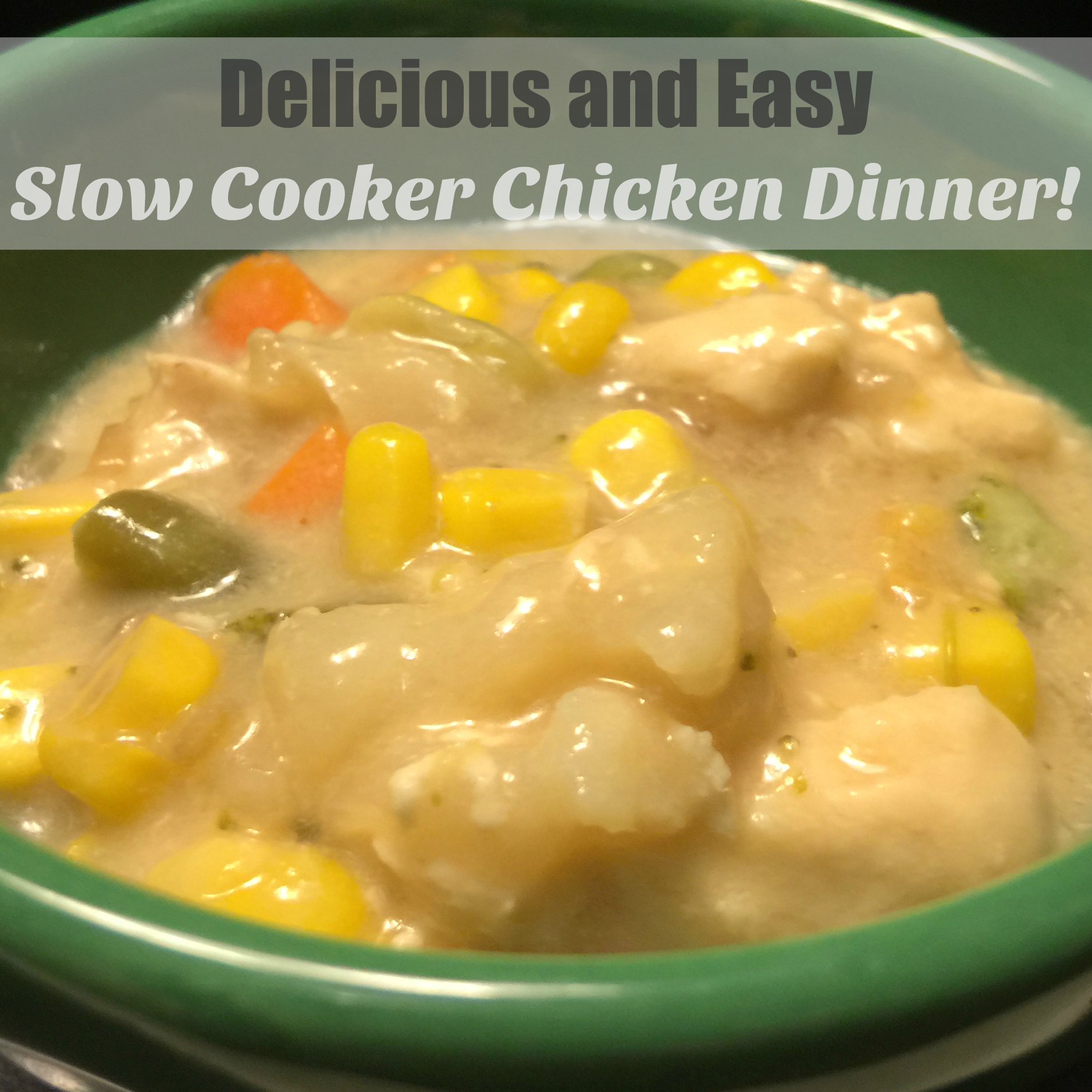 Delicious and Easy Slow Cooker Chicken Dinner @NinjaKitchen
