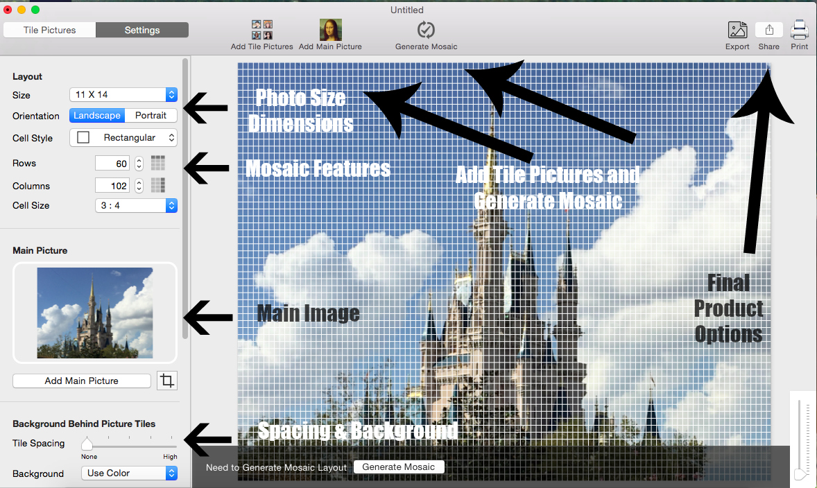 Create Special Vacation Memories With Turbo Mosaic