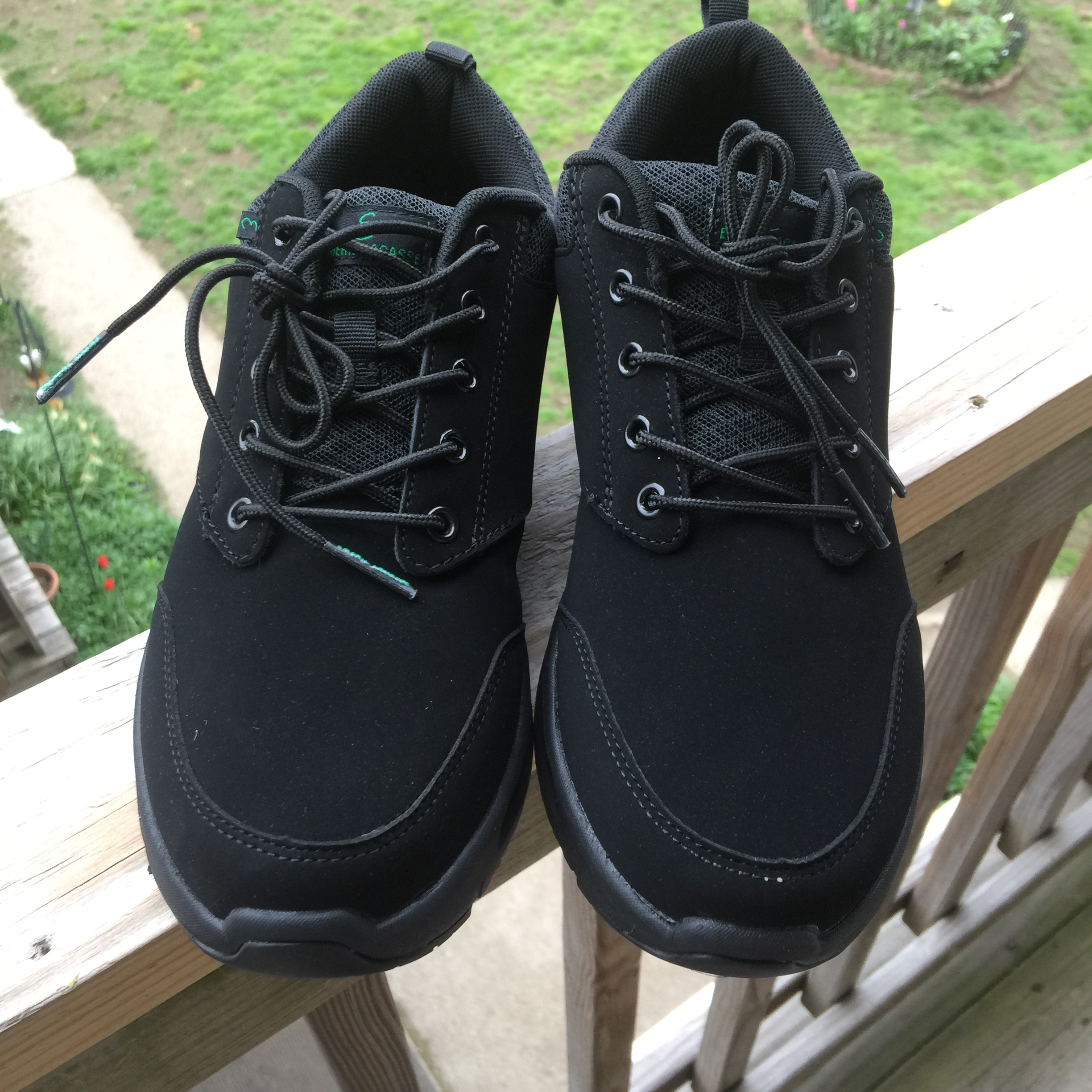 Slip Resistant Emeril Footwear Women's Quarter Nubuck