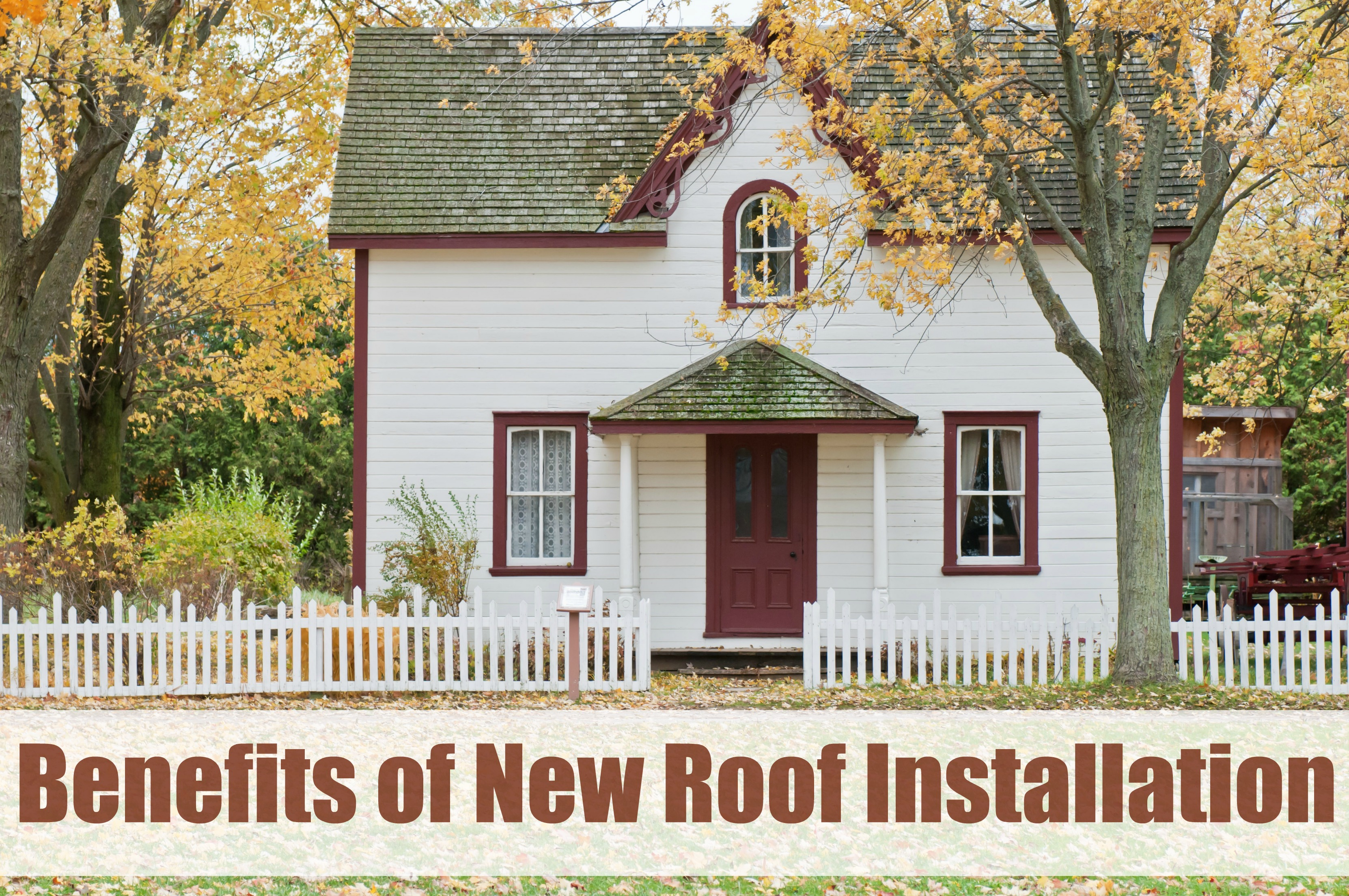 New Roof Installation : Benefits of new roof installation ⋆ the stuff success