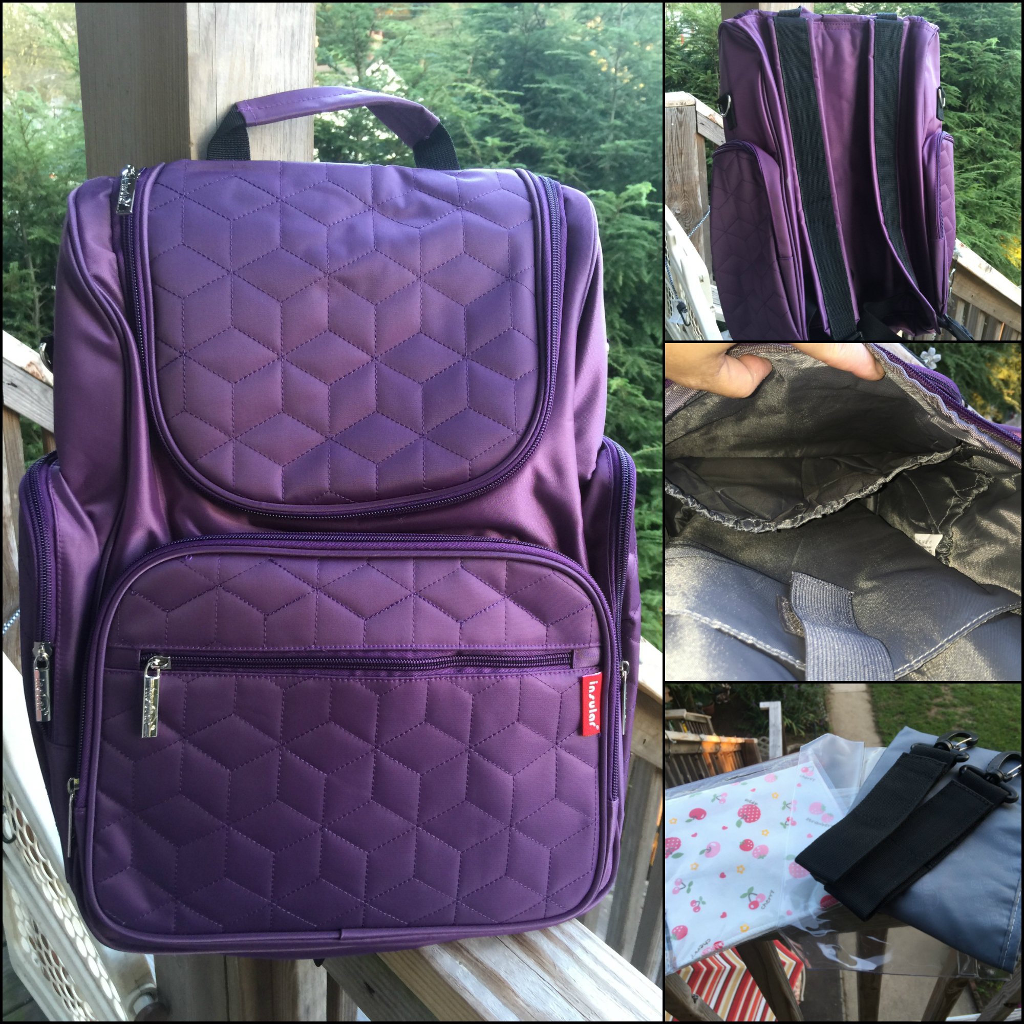 Isn T This The Coolest Bag Ever Okay What Can You Possibly Say About Purple It Is An Awesome Color With Timeless Beauty I Will Larger Than