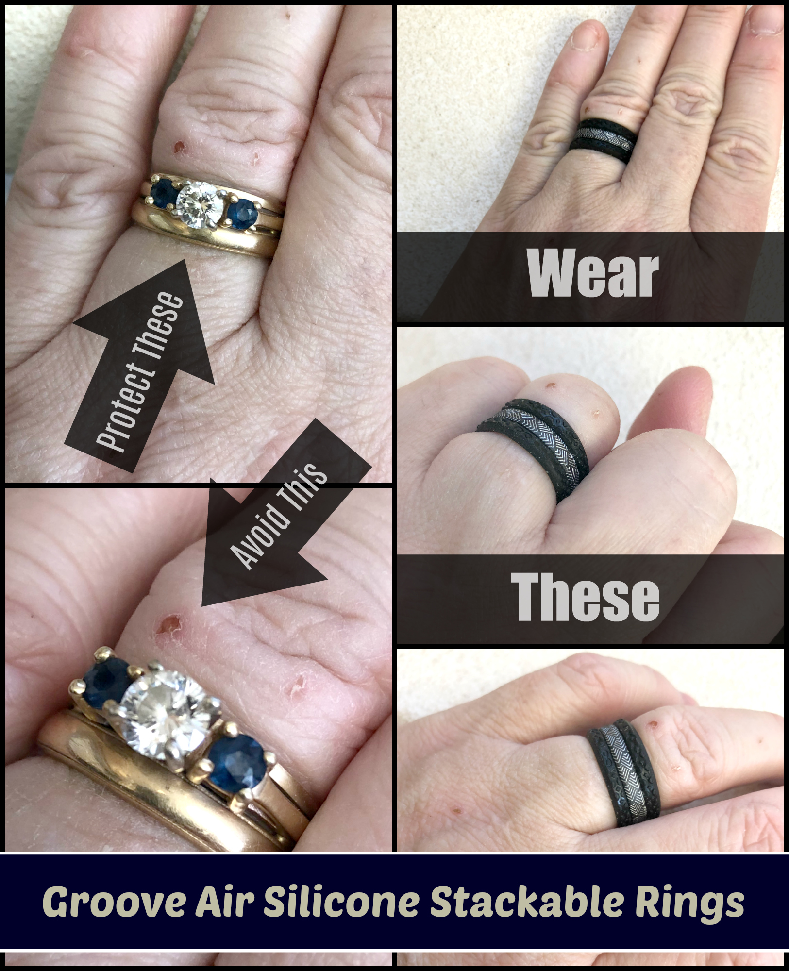 93ac3ba8a001c4 I absolutely love my wedding rings but they have posed a problem for me on  more than one occasion. We have been married for 28+ years and quite  honestly it ...