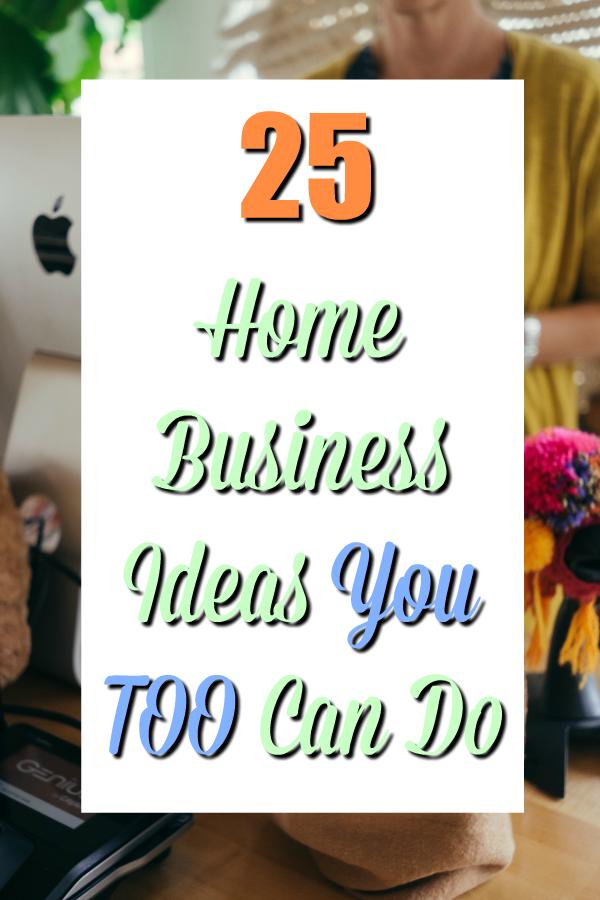 Home Business Idea