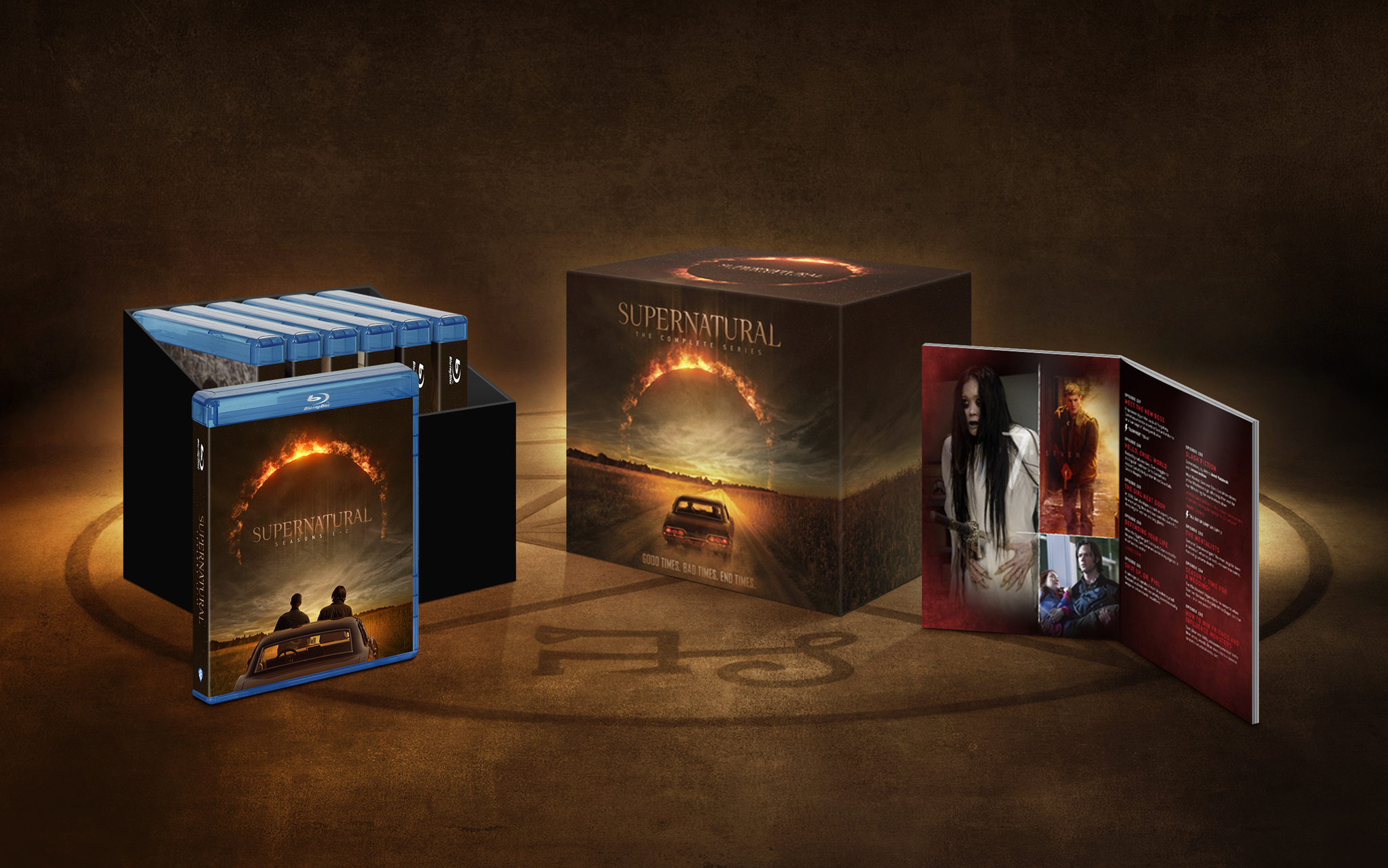 Supernatural The Complete Series Available May 25th!