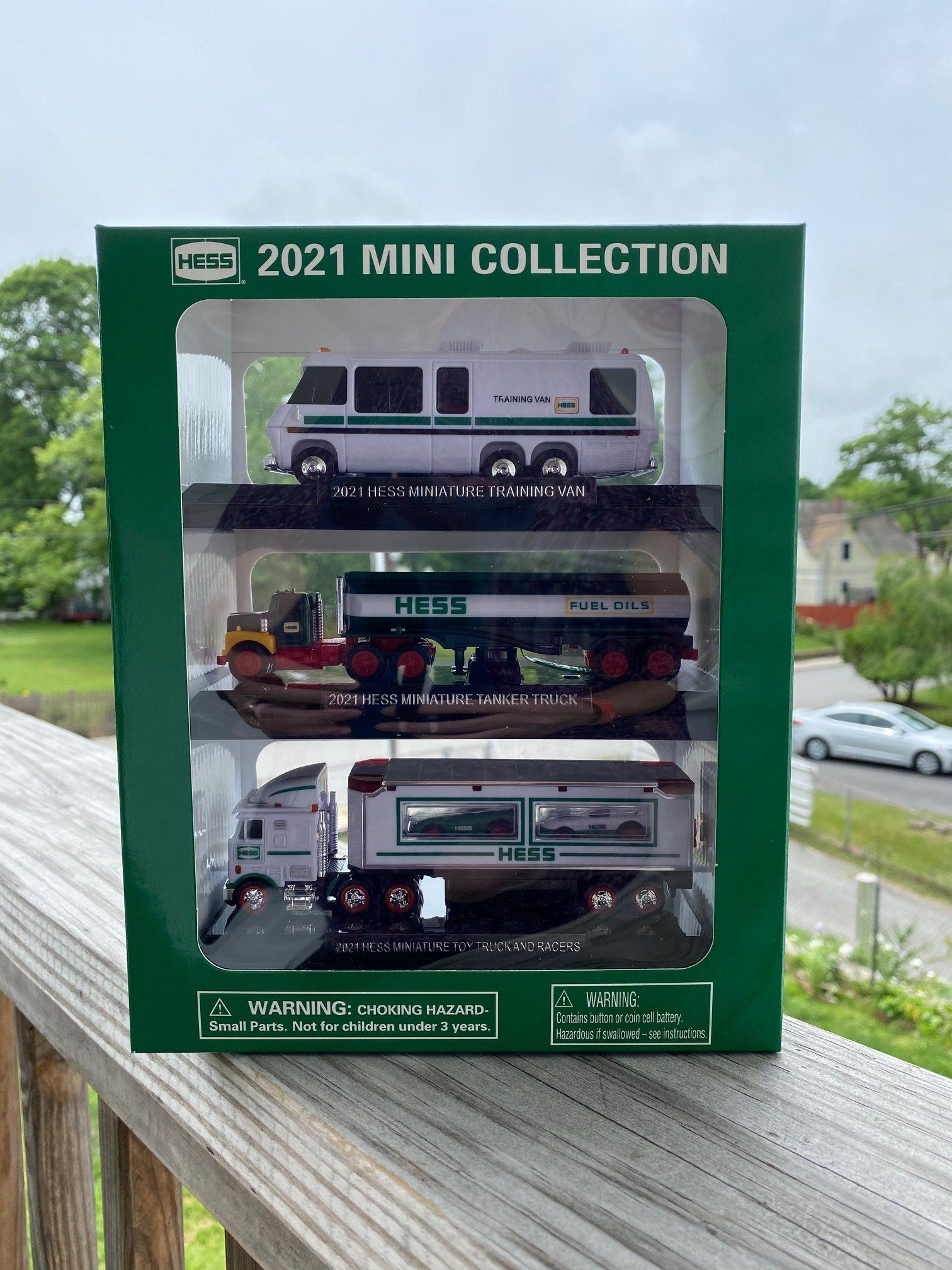 Mini Vintage Hess Toy Trucks