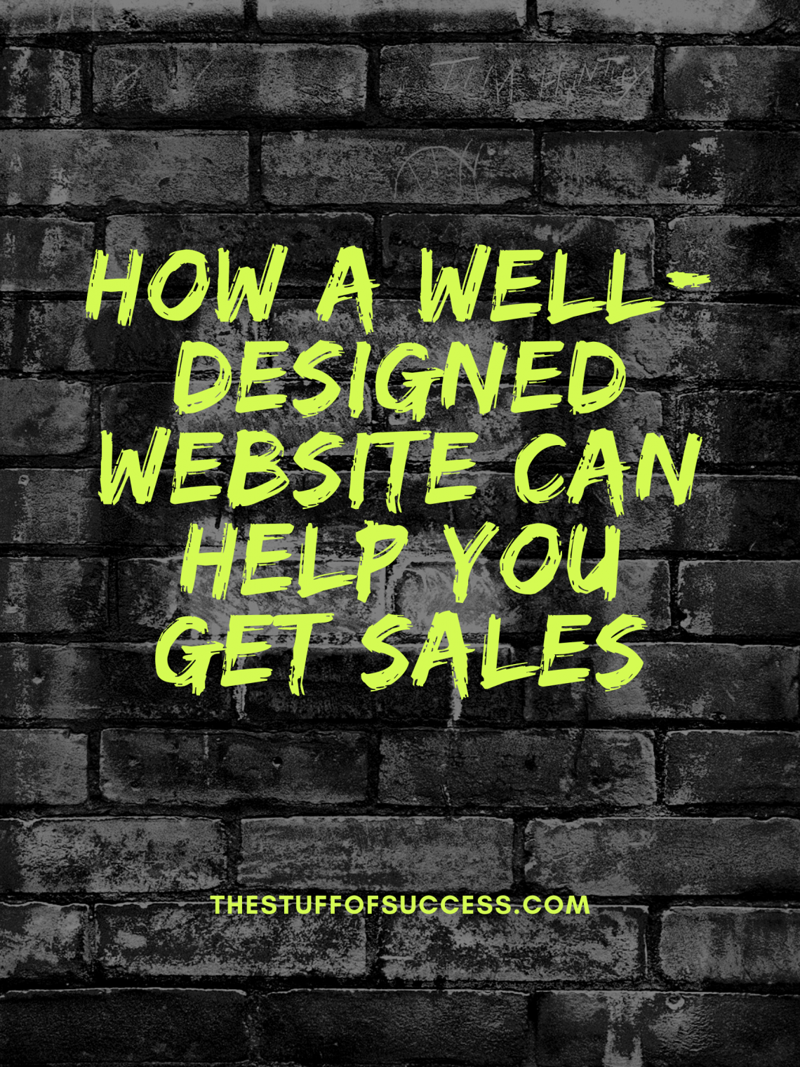 How a Well-Designed Website Can Help You Get Sales