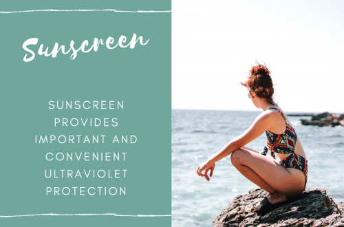 Sunscreen Provides Important and Convenient Ultraviolet Protection