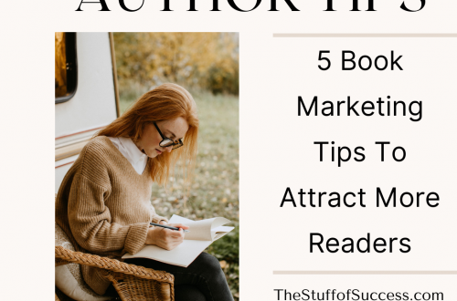 5 Book Marketing Tips To Attract More Readers